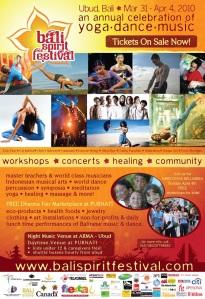 BaliSpirit Festival 2010 Headliners