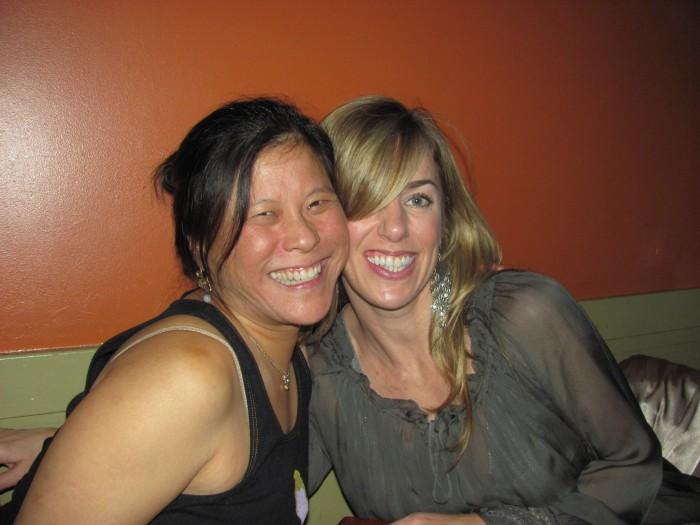 Cora Wen, Bay Area Teacher & Ashley Halley, Tampa Bay Yoga Teacher