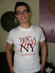 yoga for ny t-shirt