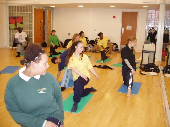 Anne-Marie Slater, Yoga Teacher, London, UK http://www.amyoga.org.uk